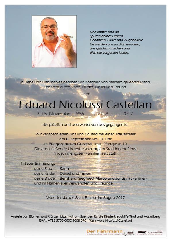 Parte Nicolussi Castellan Eduard