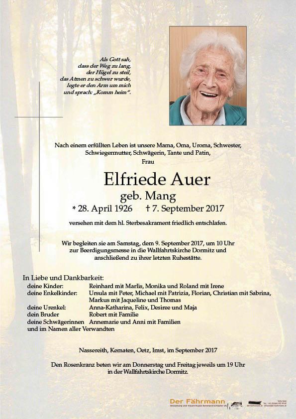 parte Elfriede Auer