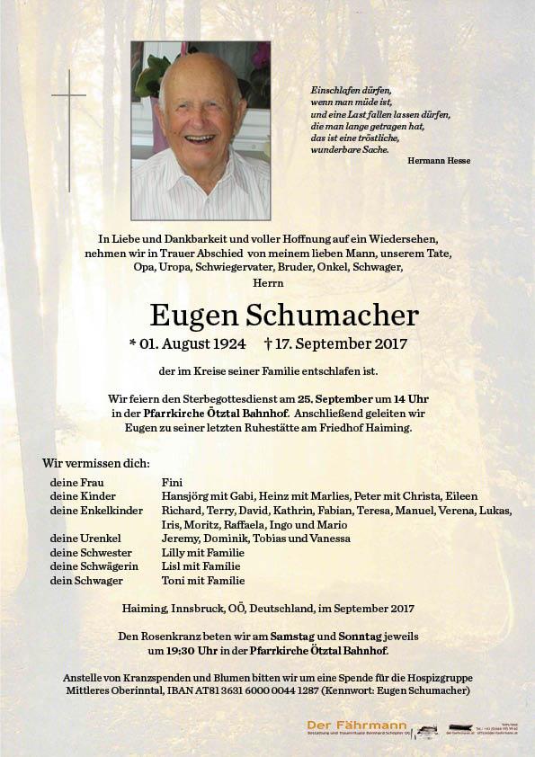 Parte Eugen Schumacher
