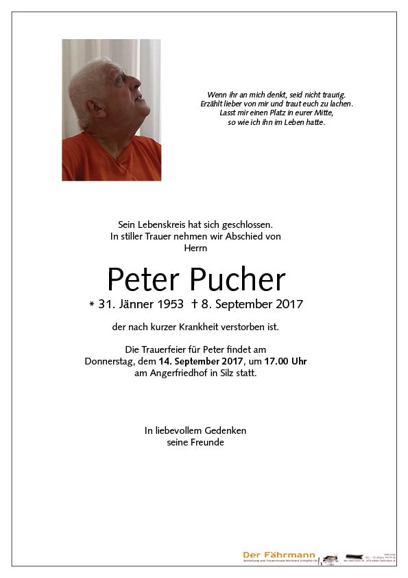 parte Peter Pucher