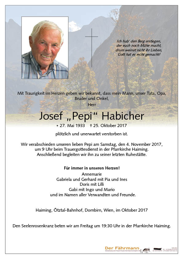 Parte Josef Habicher