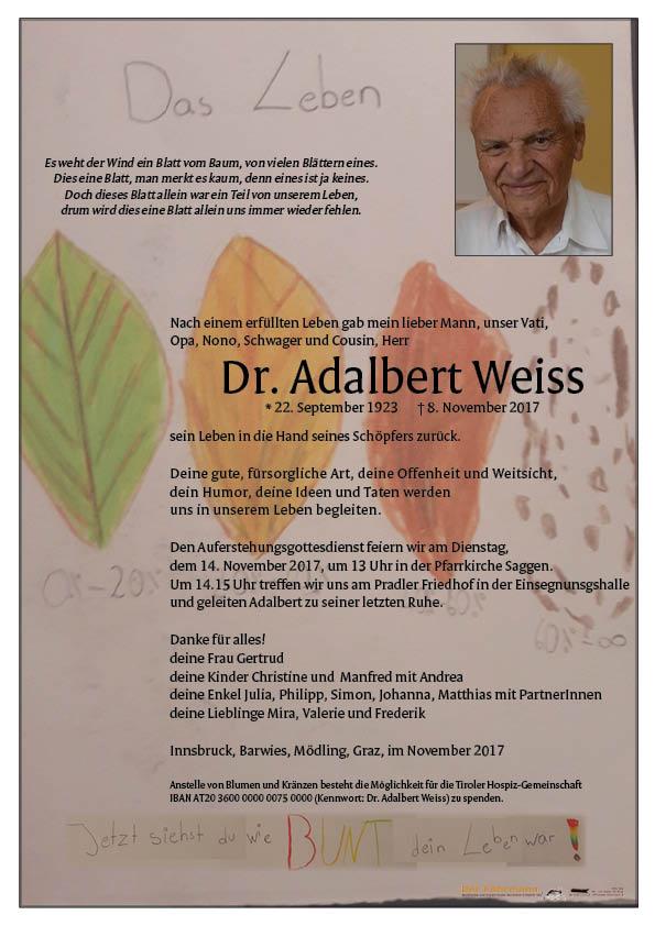 Parte Adelbert Weiss