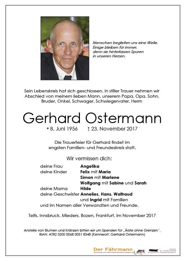 Parte Gerhard Ostermann