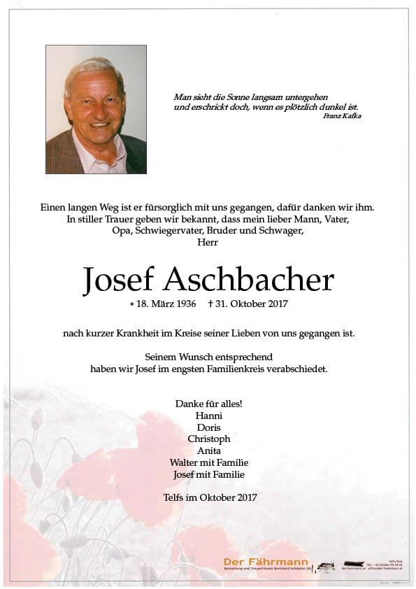 Parte Josef Aschbacher