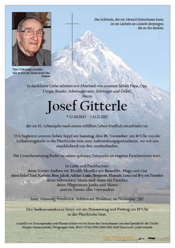 Parte Josef Gitterle