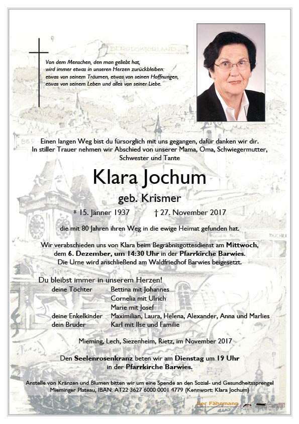 Parte Klara Jochum
