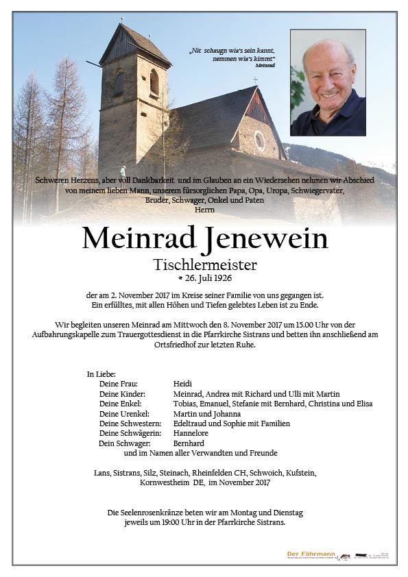 Parte Meinrad Jenewein