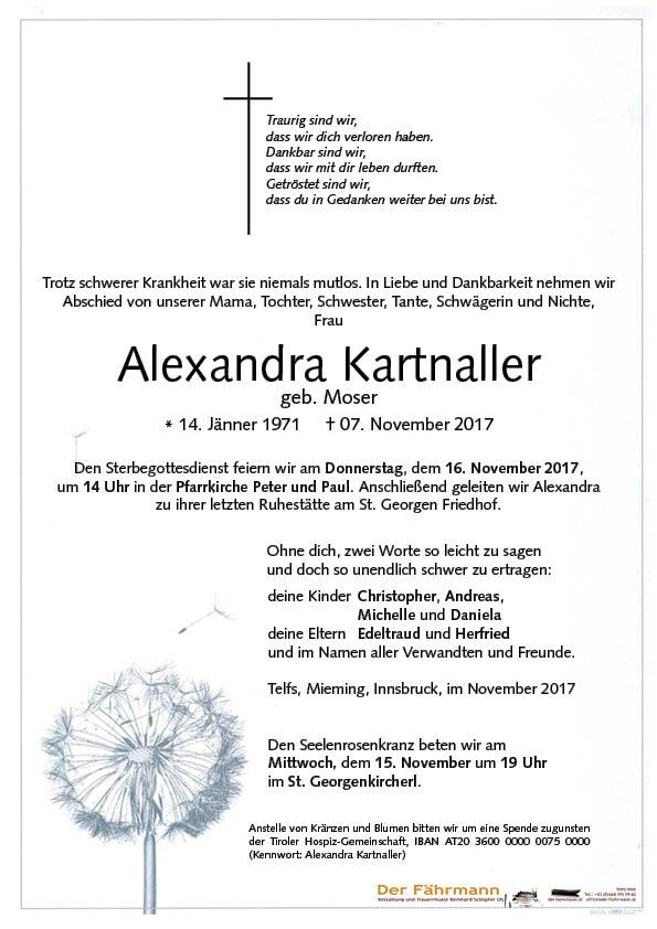 Parte Alexandra Kartnaller
