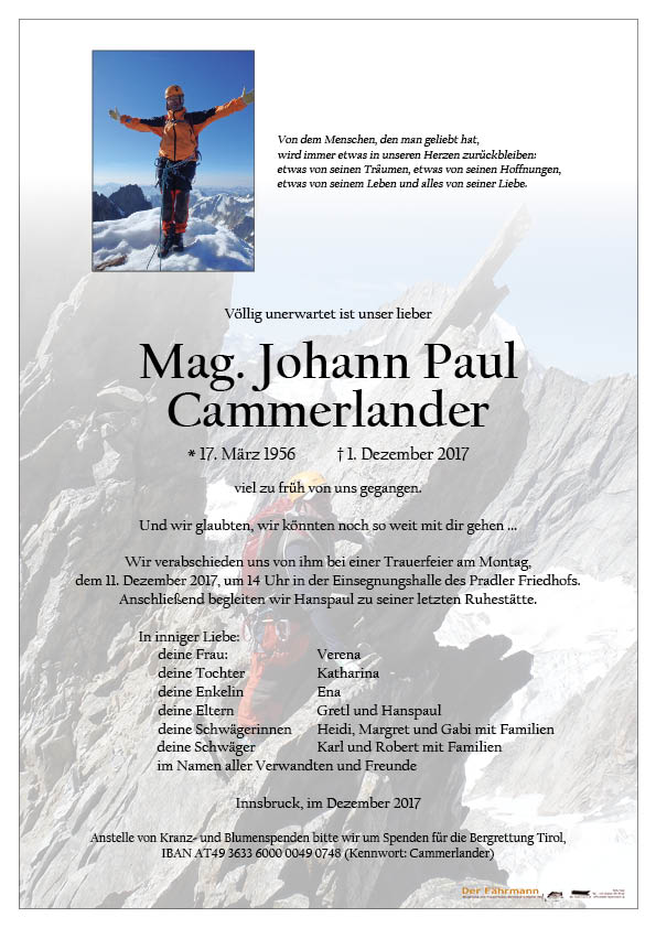 Parte Hanspaul Cammerlander