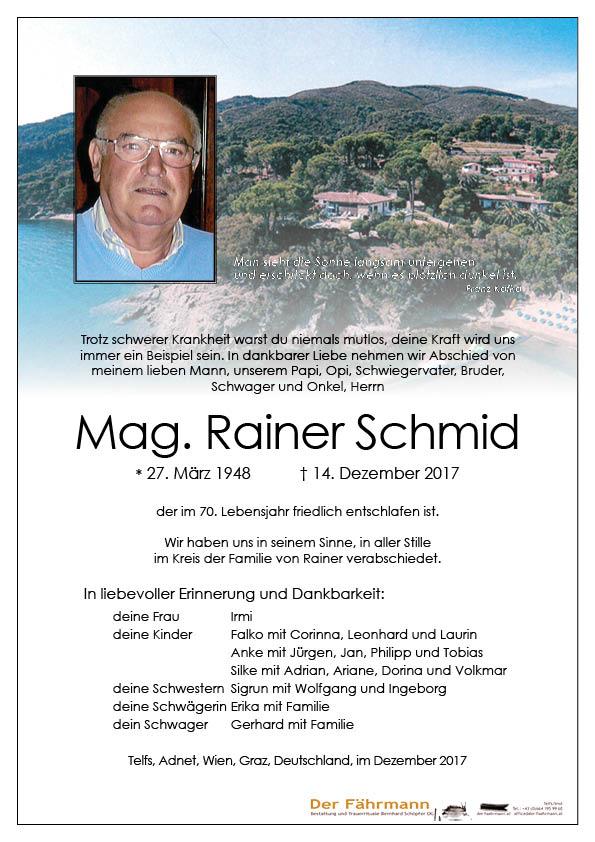 Parte Rainer Schmid