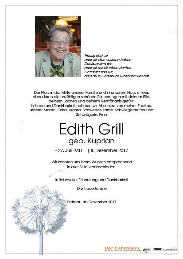 Parte Grill Edith