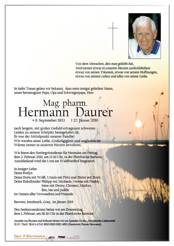 Parte Hermann Daurer