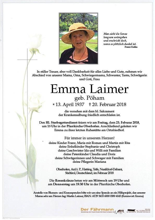 Parte Emma Laimer