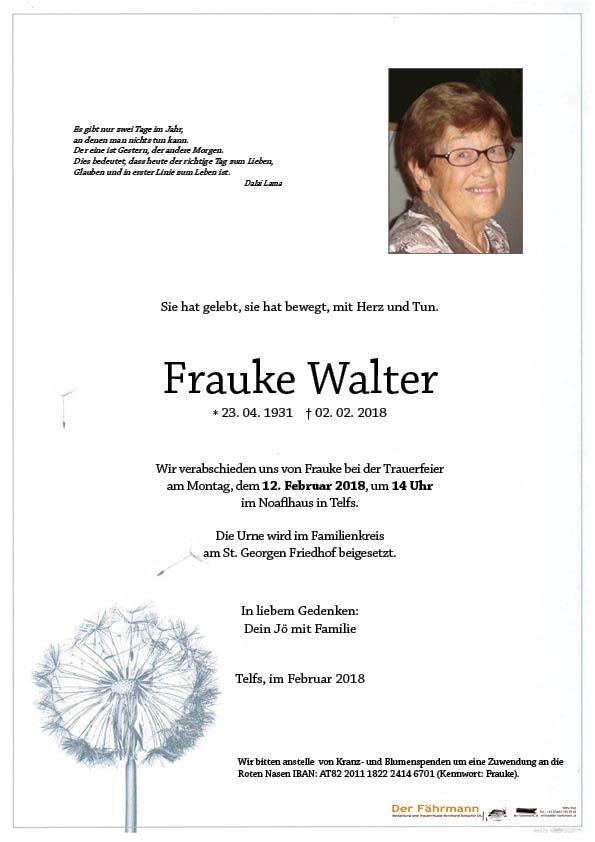 Parte Frauke Walter