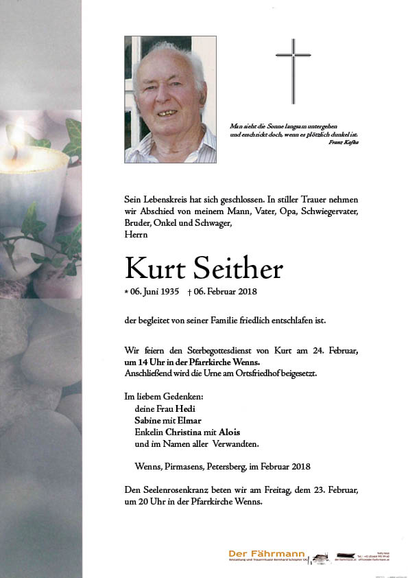 parte Kurt Seither