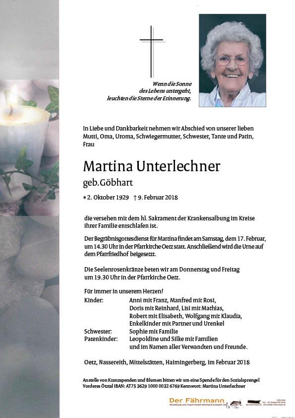 parte Martina Unterlechner