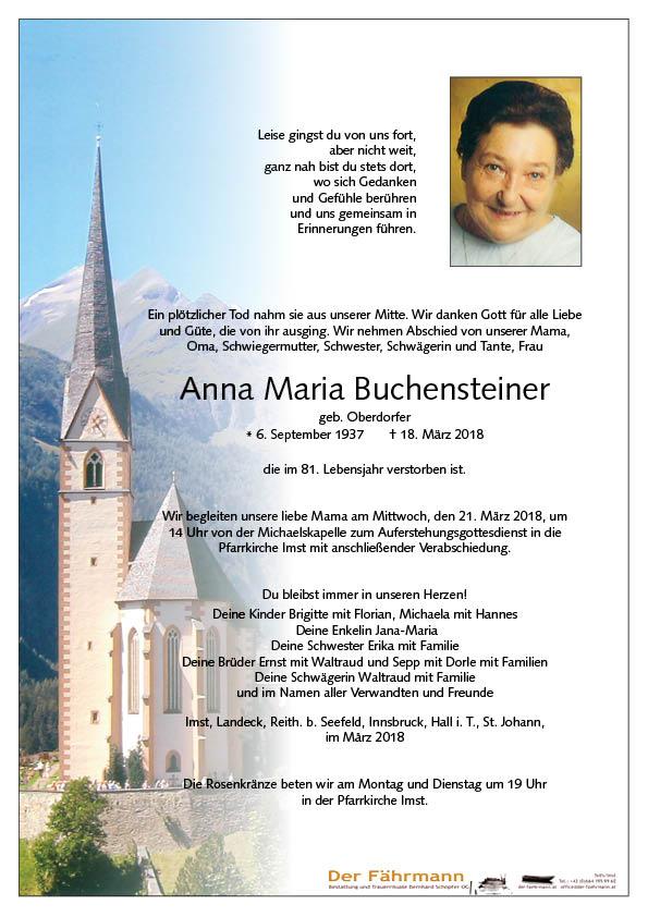 Parte Anna Maria Buchensteiner