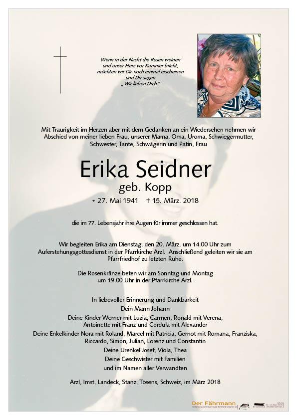 Parte Erika Seider