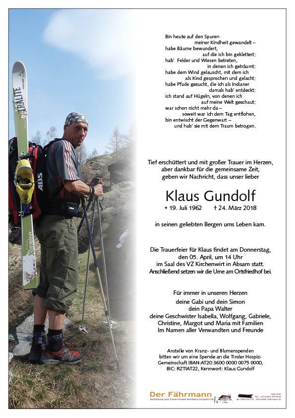 Parte Klaus Gundolf