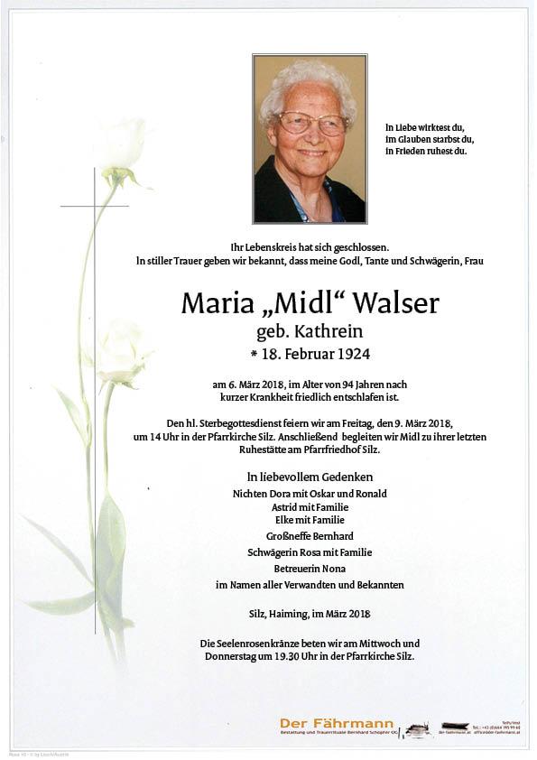 Parte Maria Walser