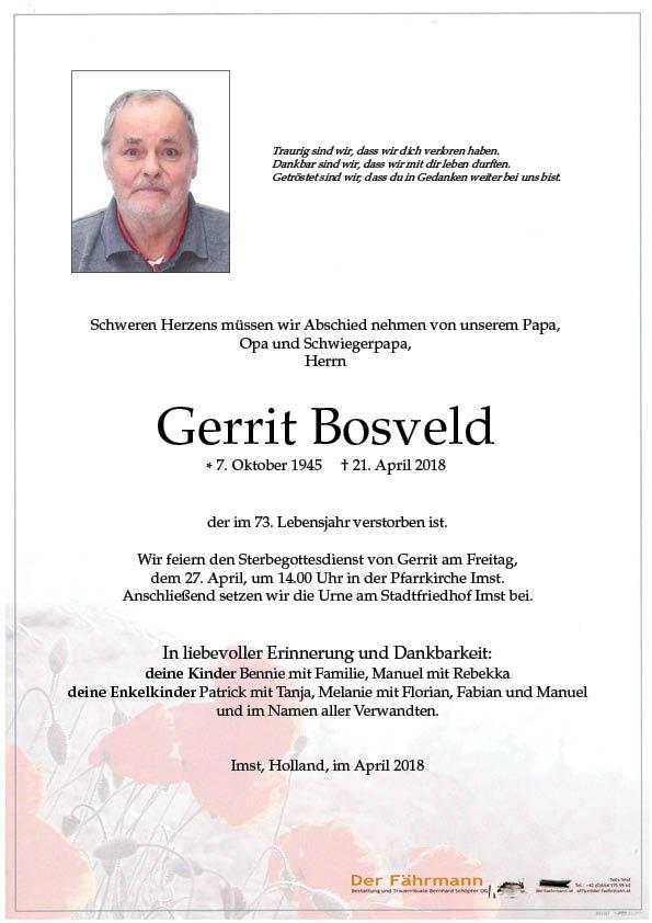 Parte Gerrit Bosveld