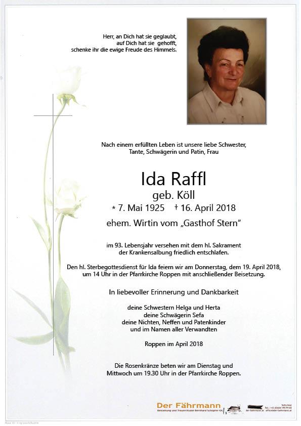 Parte Ida Raffl
