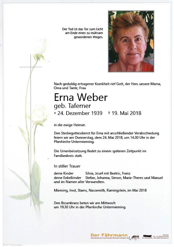 Parte Erna Weber