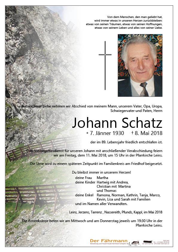 Parte Schatz Johann