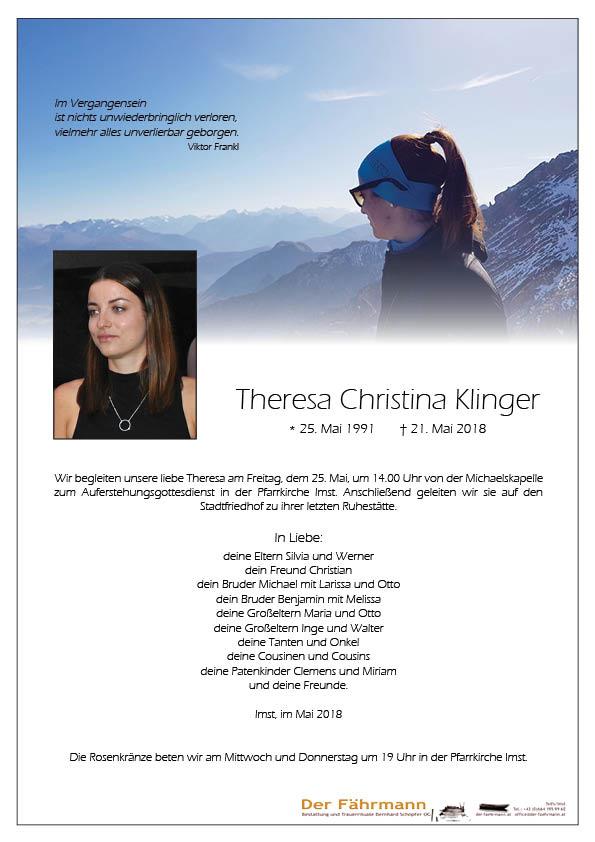 Parte Theresa Klinger