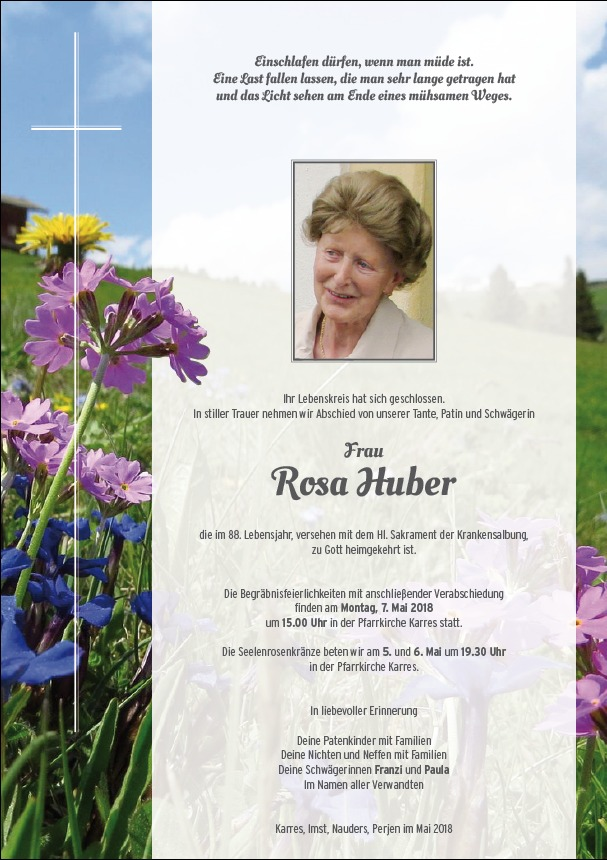 parte Huber Rosa
