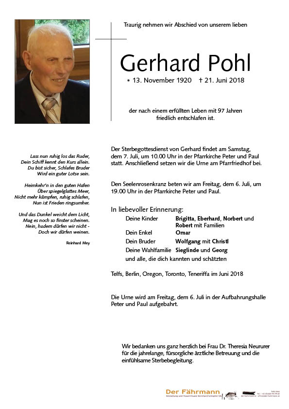 Parte Gerhard Pohl
