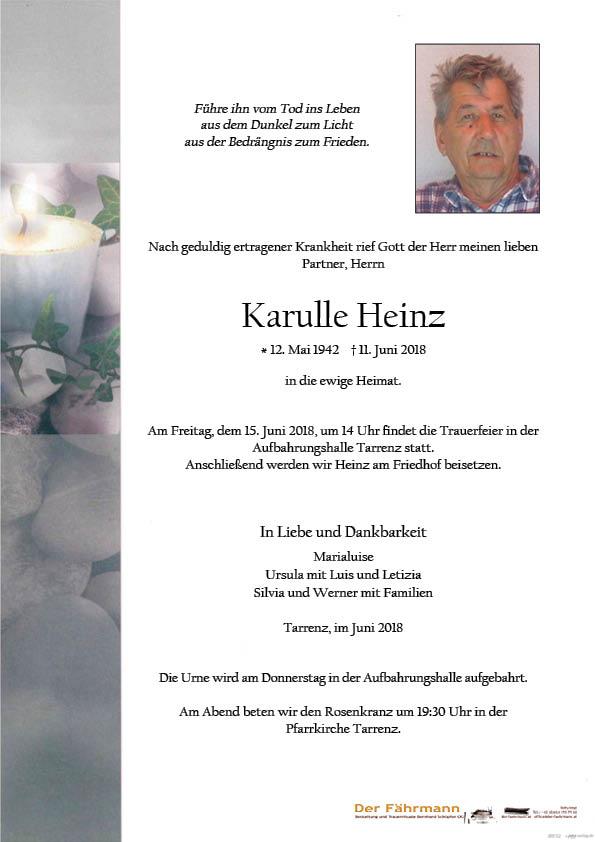 Parte Heinz Karulle