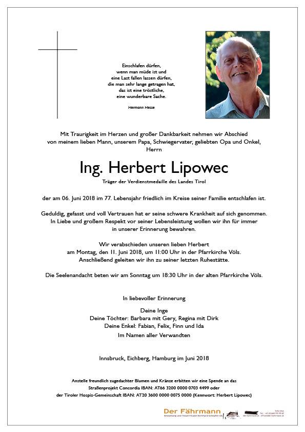 Parte Herbert Lipowec