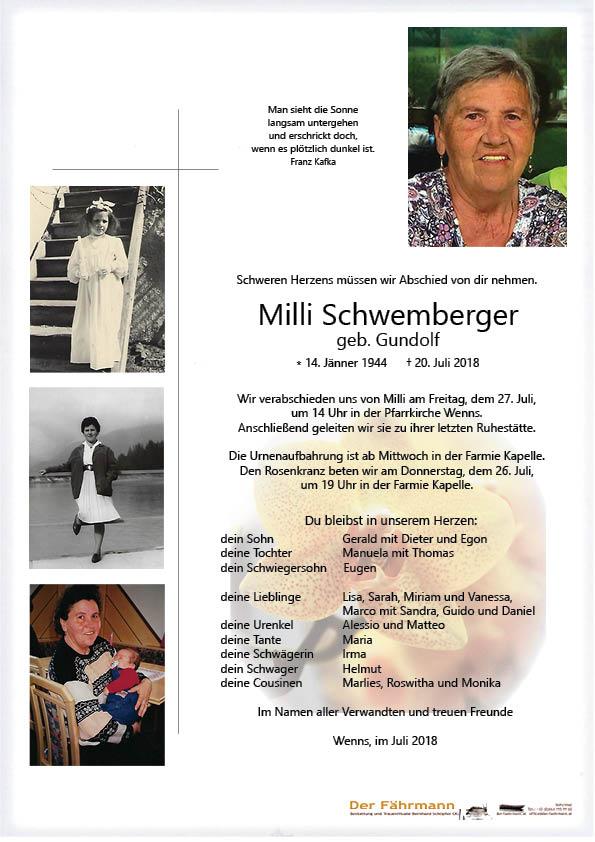 Parte Emilie Schemberger