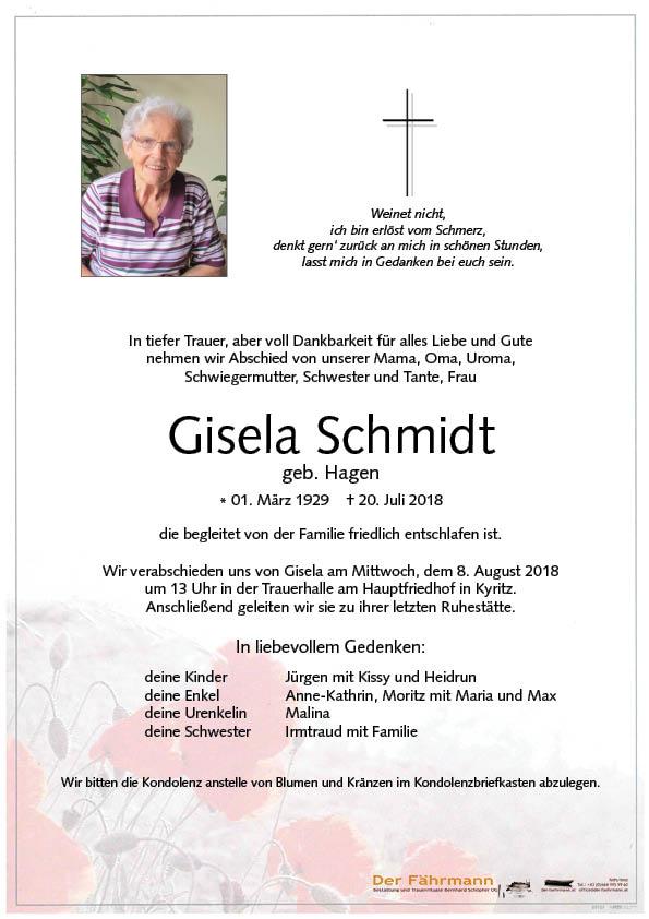 Parte Gisela Schmidt