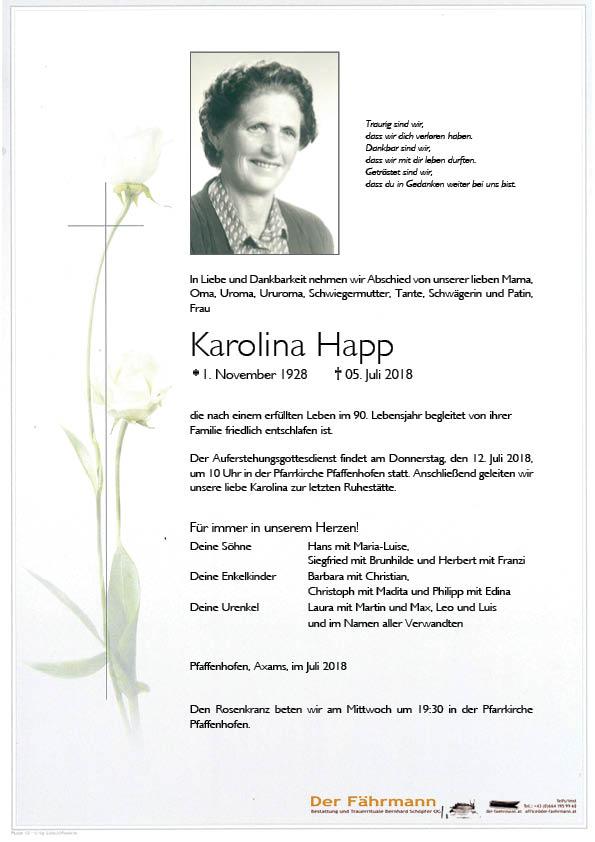 Parte Karolina Happ