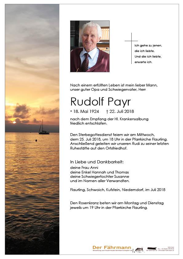 Parte Rudolf Payr