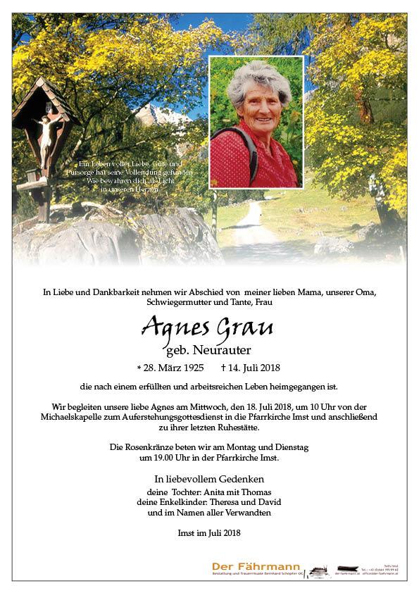 parte Agnes Grau