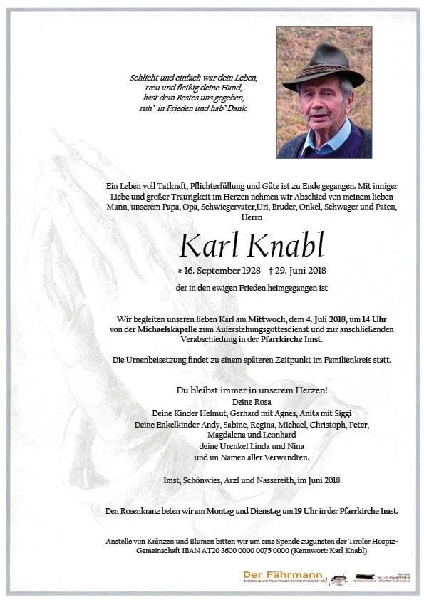 parte Karl Knabl