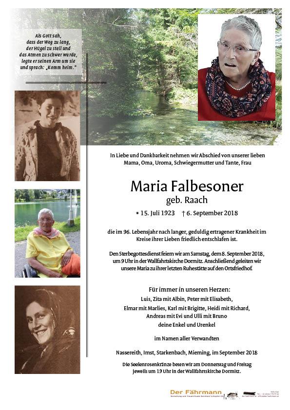 Parte Maria Falbesoner