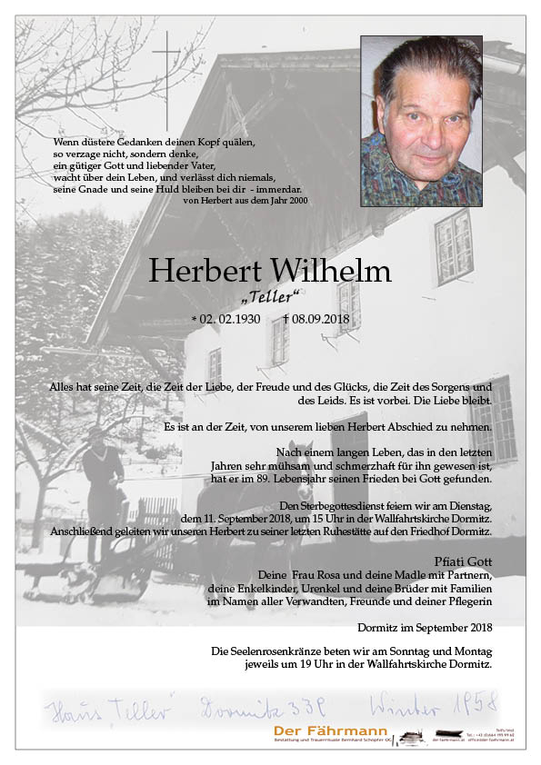 parte Herbert Wilhelm