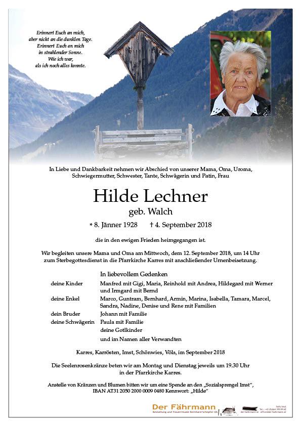 parte Hilde Lechner