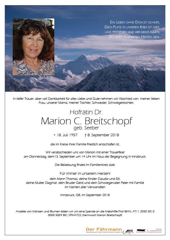 parte Marion Breitschopf
