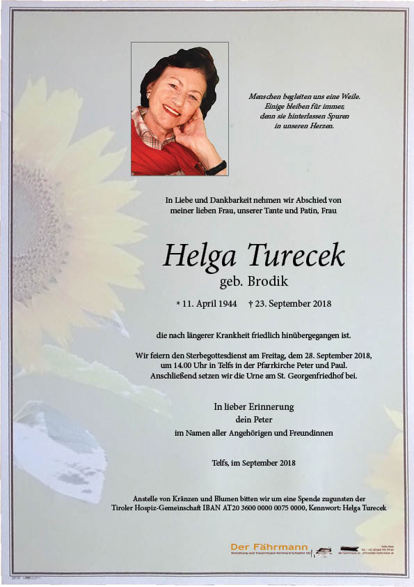 Parte Turecek Helga