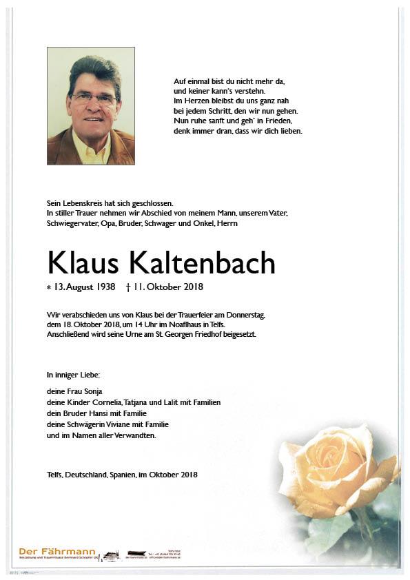 Parte Klaus Kaltenbach