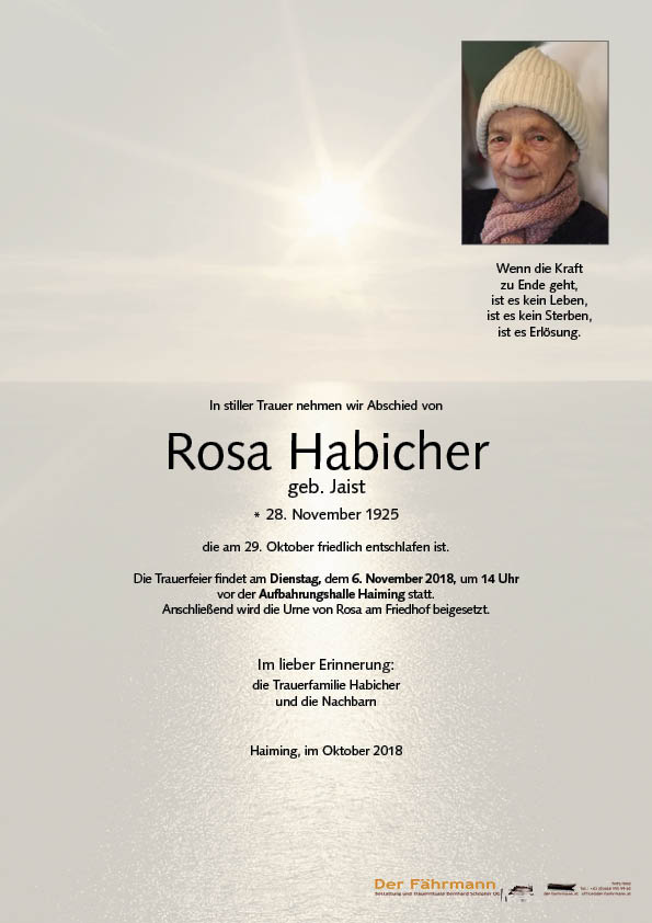 Parte Rosa Habicher