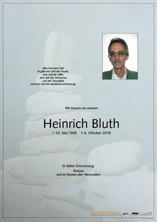 parte Heinrich Bluth