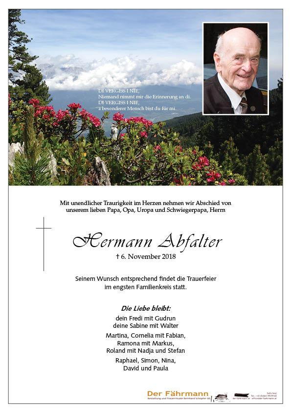 parte Hermann Abfalter