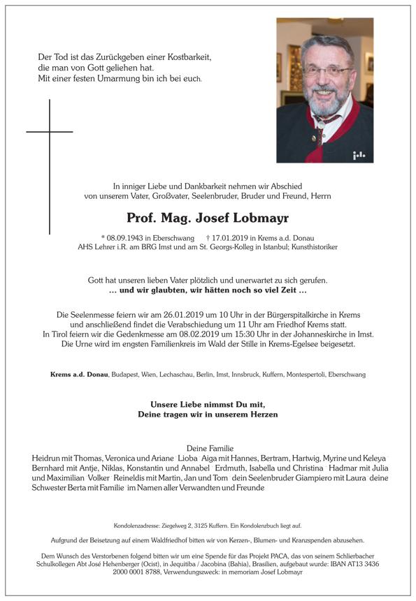 Parte Josef Lobmayr