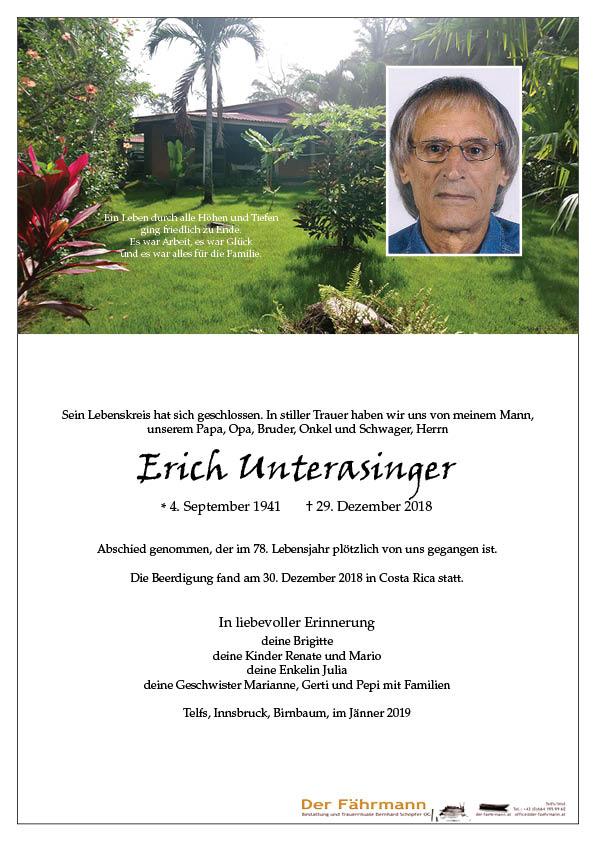 parte Erich Unterasinger
